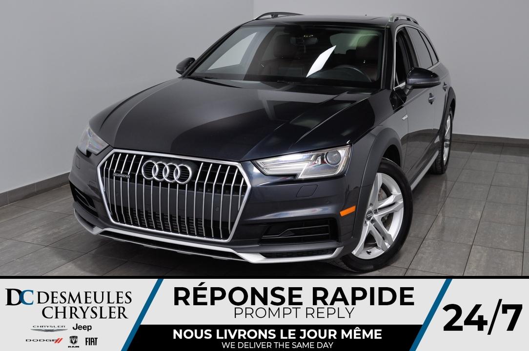 2018 Audi A4 allroad  - Desmeules Chrysler