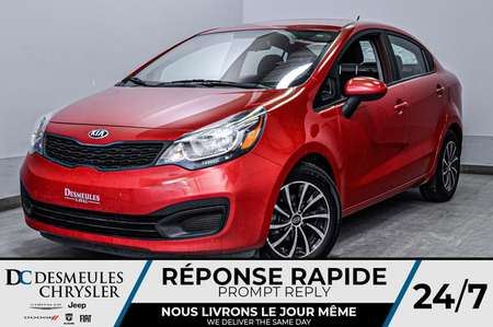 2014 Kia Rio LX manuelle for Sale  - DC-D1700  - Desmeules Chrysler