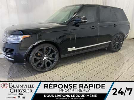 2015 Land Rover Range Rover HSE * MAGS * BLUETOOTH * CUIR * TOIT PANO * NAV for Sale  - BC-P1422  - Desmeules Chrysler
