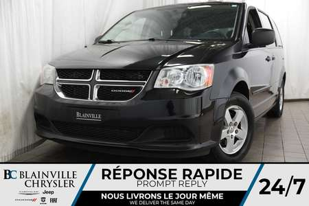 2012 Dodge Grand Caravan 42$/SEM + SE + V6 3.6L + STOW N' GO + CAM RECUL for Sale  - 80394a  - Blainville Chrysler