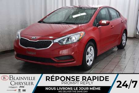 2016 Kia FORTE LX * BLUETOOTH * A/C * MANUEL * CRUISE CONTROL * for Sale  - BC-P1562  - Blainville Chrysler