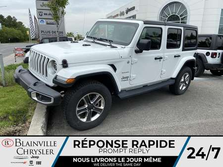 2020 Jeep Wrangler Sahara for Sale  - BC-20239  - Desmeules Chrysler
