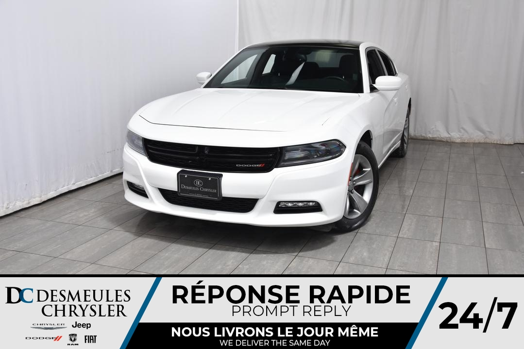 2016 Dodge Charger  - Desmeules Chrysler