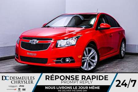 2014 Chevrolet Cruze 2LT + bancs chauff + toit ouv + bluetooth for Sale  - DC-D1699  - Desmeules Chrysler