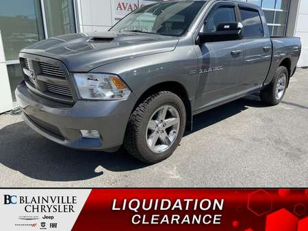2012 Ram 1500 SPORT * AWD AUTO * CREW CAB * PARKING SENSORS * for Sale  - BC-80395A  - Blainville Chrysler