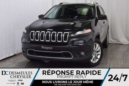 2015 Jeep Cherokee Limited * Remorque 4500 lbs * Cam. Rec. * 4X4 for Sale  - DC-90022A  - Blainville Chrysler