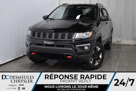 2018 Jeep Compass Trailhawk * Cam. Rec. * Démarreur Dist. * for Sale  - DC-71259A  - Desmeules Chrysler
