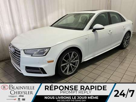 2017 Audi A-4 S LINE * CAMERA RECUL * NAVIGATION * for Sale  - BC-C1680  - Blainville Chrysler