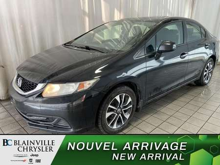 2013 Honda Civic EX * CAMERA RECUL * BLUETOOTH * SIEGES CHAUFFANT for Sale  - BC-90390B  - Blainville Chrysler