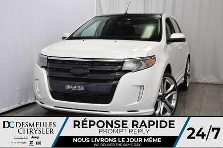 2011 Ford Edge Sport * Cam. de Rec. * Sièges Chauff. * Toit Pano. for Sale  - DC-A0804A  - Desmeules Chrysler