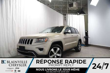 2015 Jeep Grand Cherokee 93$SEM+Limited+CUIR+TOIT++67208KM+ IMPECCABLE for Sale  - BC-P1128  - Blainville Chrysler