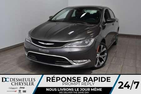 2015 Chrysler 200 C * Toit Ouvr Pano * Cam Rec * NAV * 72$/Semaine for Sale  - DC-A1500  - Desmeules Chrysler