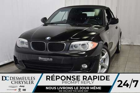 2012 BMW 1 Series 128i * Convertible * Cuir * Bouton Start for Sale  - DC-A0843  - Desmeules Chrysler