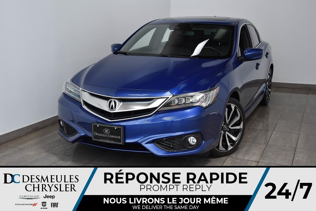 2016 Acura ILX  - Desmeules Chrysler