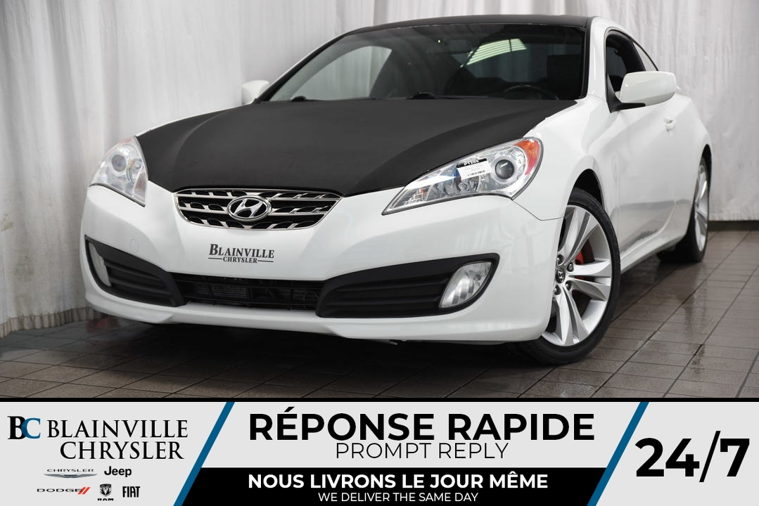 2012 Hyundai GENESIS COUPE  - Desmeules Chrysler