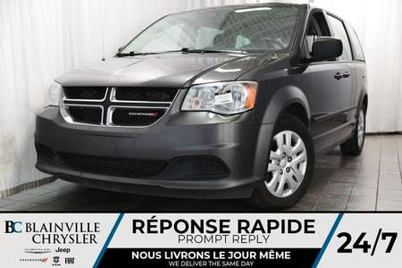 2017 Dodge Grand Caravan SE+ V6 3.6L + BLUETOOTH + CLIM BI-ZONE + RADIO SAT for Sale  - BC-P1263  - Desmeules Chrysler