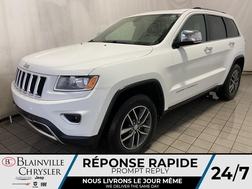 2016 Jeep Grand Cherokee LIMITED * CAMERA RECUL * BLUETOOTH * TOIT OUVRANT  - BC-20271A  - Blainville Chrysler