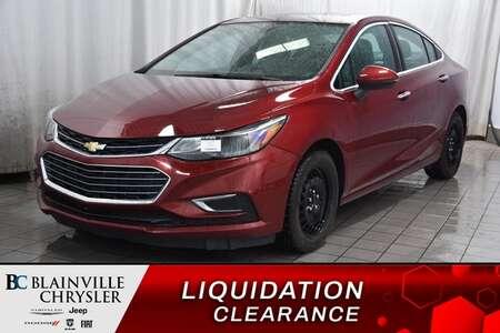 2016 Chevrolet Cruze Premier * TOIT OUVR * CAM REC * NAV * VOL CHAUFF for Sale  - BC-P1570  - Desmeules Chrysler