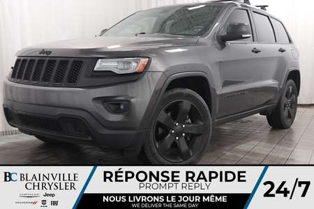 2014 Jeep Grand Cherokee Limited +  TOIT PANO + LEDS + MAGS + BANC CHAUFF for Sale  - BC-P1225A  - Desmeules Chrysler