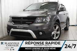 2017 Dodge Journey Crossroad+V6+CAM RECUL+CUIR+TOIT+NAV+BLUETOOTH  - BC-P1172  - Desmeules Chrysler