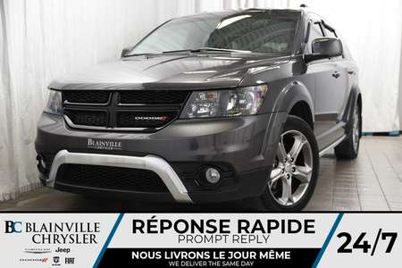 2017 Dodge Journey Crossroad+V6+CAM RECUL+CUIR+TOIT+NAV+BLUETOOTH for Sale  - BC-P1172  - Blainville Chrysler