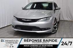 2015 Chrysler 200 S * Cam Rec  * Sièges & Volant Chauff  * Int Cuir  - DC-51782  - Desmeules Chrysler