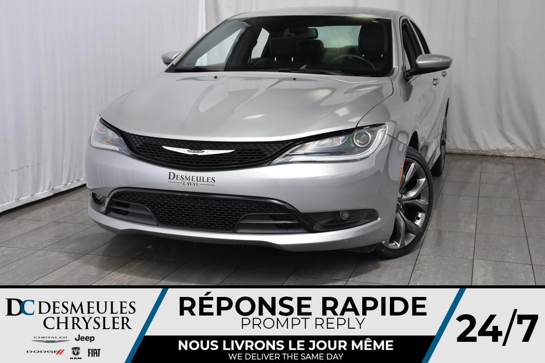 2015 Chrysler 200  - Desmeules Chrysler