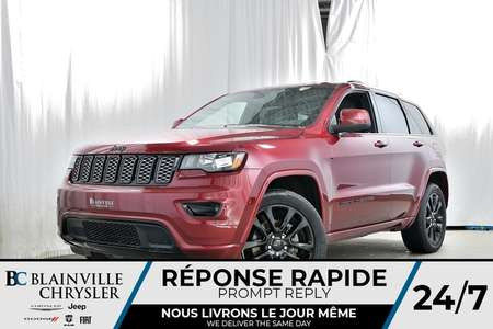 2018 Jeep Grand Cherokee LAREDO ALTITUDE + V6 3.6L + NAV + BLUETOOTH + CUIR for Sale  - 80232  - Desmeules Chrysler