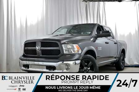 2018 Ram 1500 CREW CAB + BIG HORN + V6 DIESEL + NAV + MAGS for Sale  - 80269  - Desmeules Chrysler