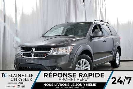 2017 Dodge Journey SXT+AWD+V6+CAM Recul+NAV+Divertissement Passagers for Sale  - BCDL-70529  - Blainville Chrysler