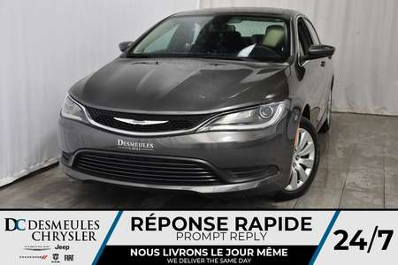 2016 Chrysler 200 LX * SIÈGES BAQUET EN TISSUS * UCONNECT 97.19$/sem for Sale  - DC-61807  - Blainville Chrysler