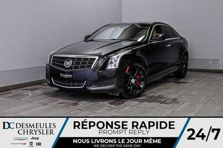 2014 Cadillac ATS 2.0L Turbo + bancs chauff + a/c + blueooth for Sale  - DC-D1634A  - Blainville Chrysler