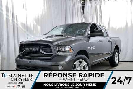 2018 Ram 1500 SPORT + CREW CAB + V8 5.7L HEMI + MAGS 20'' + NAV for Sale  - 80321  - Desmeules Chrysler