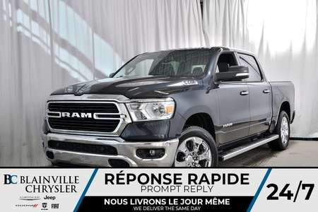 2019 Ram 1500 BIG HORN CREW CAB + V8 5.7L HEMI + BLUETOOTH for Sale  - 90170  - Blainville Chrysler