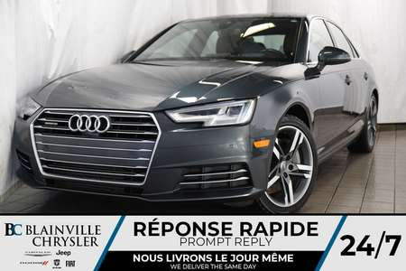 2017 Audi A-4 Technik+QUATTRO+NAV+CAM RECUL+HEAD UP DISPLAY for Sale  - BC-P1152  - Desmeules Chrysler