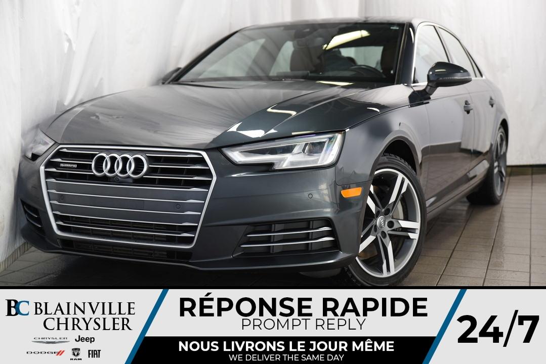 2017 Audi A-4  - Desmeules Chrysler