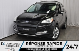 2016 Ford Escape Titanium * Toit Ouvr. Pano. * NAV * Cam. Rec.  - DC-A1007  - Desmeules Chrysler