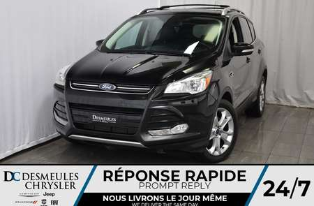 2016 Ford Escape Titanium * Toit Ouvr. Pano. * NAV * Cam. Rec. for Sale  - DC-A1007  - Blainville Chrysler