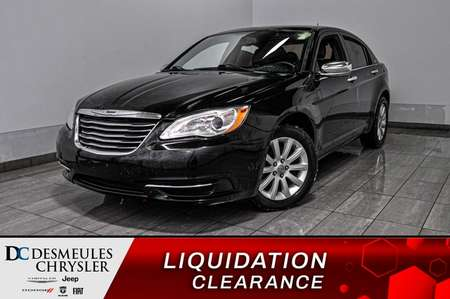 2014 Chrysler 200 LIMITED * CUIR * SYSTÈME DE SON BOSTON * for Sale  - DC-A0840  - Blainville Chrysler
