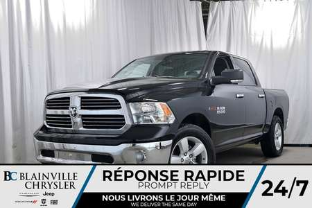 2018 Ram 1500 Crew Cab+3.6L V6 + NAV + DIFF ARRIÈRE AUTOBLOQUANT for Sale  - 80122  - Desmeules Chrysler