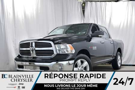 2018 Ram 1500 Crew Cab + 3.0L V6 ECODIESEL + MAGS 20'' + NAV for Sale  - 80123  - Desmeules Chrysler