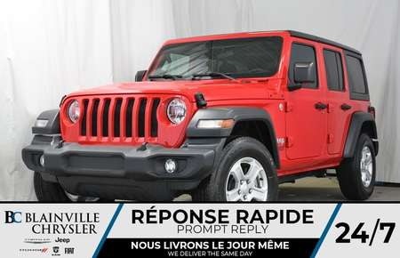 2018 Jeep Wrangler Unlimited Sport S for Sale  - 80137  - Blainville Chrysler