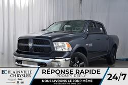 2018 Ram 1500 CREW CAB + BIG HORN + V8 5.7L HEMI + MAGS 20''  - 80201  - Desmeules Chrysler