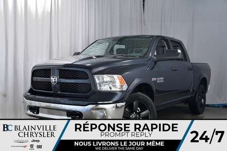 2018 Ram 1500 CREW CAB + BIG HORN + V8 5.7L HEMI + MAGS 20'' for Sale  - 80201  - Desmeules Chrysler