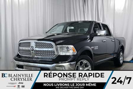 2018 Ram 1500 LARAMIE CREW CAB + V8 5.7L HEMI + UCONNECT 4 for Sale  - 80214  - Blainville Chrysler