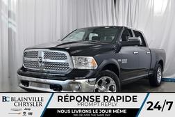 2018 Ram 1500 LARAMIE CREW CAB + V8 5.7L HEMI + CUIR + NAV  - 80222  - Blainville Chrysler