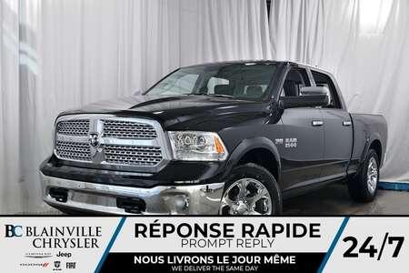 2018 Ram 1500 LARAMIE CREW CAB + V8 5.7L HEMI + CUIR + NAV for Sale  - 80222  - Desmeules Chrysler