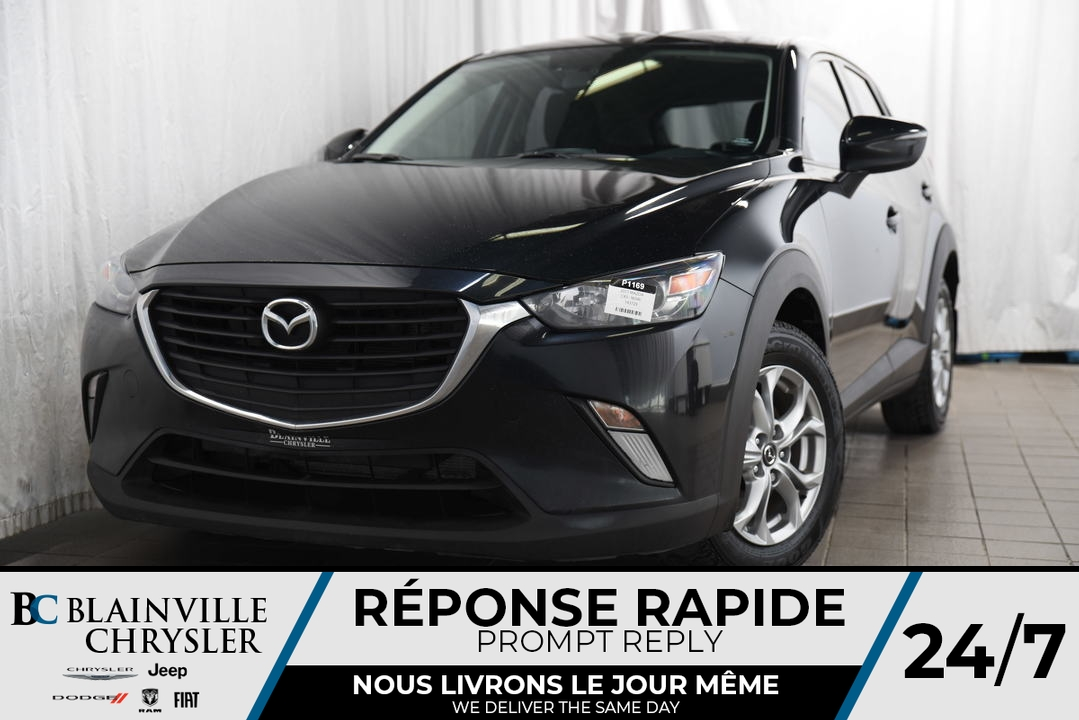 2017 Mazda CX-3  - Desmeules Chrysler