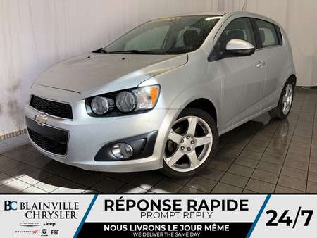 2014 Chevrolet Sonic LT * MAGS * BLUETOOTH * RADIO SATELLITE for Sale  - BC-P1377  - Desmeules Chrysler