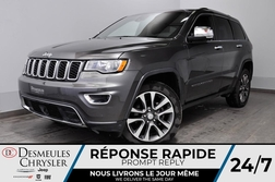 2018 Jeep Grand Cherokee Limited + CAM DE RECUL + BLUETOOTH + BANCS CHAUFF  - DC-81202  - Blainville Chrysler